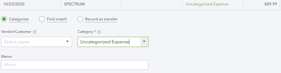 Adding Vendor Name QBO 1